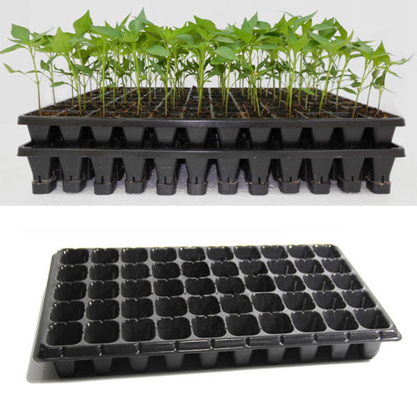 21 32 50 holes vegetable flower seeds growing tray garden plant ...