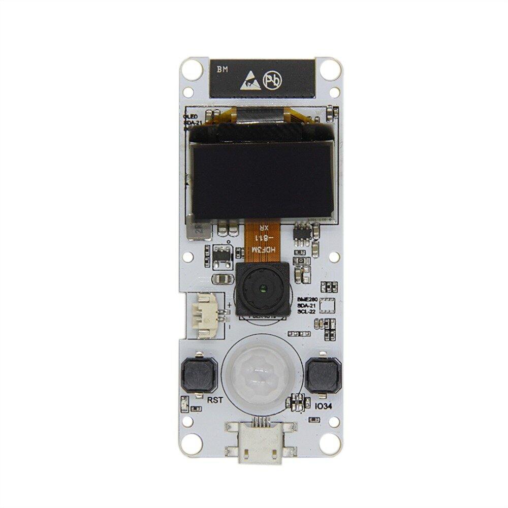 LILYGO® TTGO T-Kamera ESP32 WROVER dengan Modul Kamera PSRAM OV2640 Kamera 0.96 Inch OLED