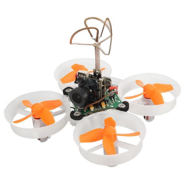 Eachine E010S 65mm Mikro FPV RC Drone Quadcopter 800TVL CMOS Berdasarkan F3 Sikat Pengendali Penerbangan
