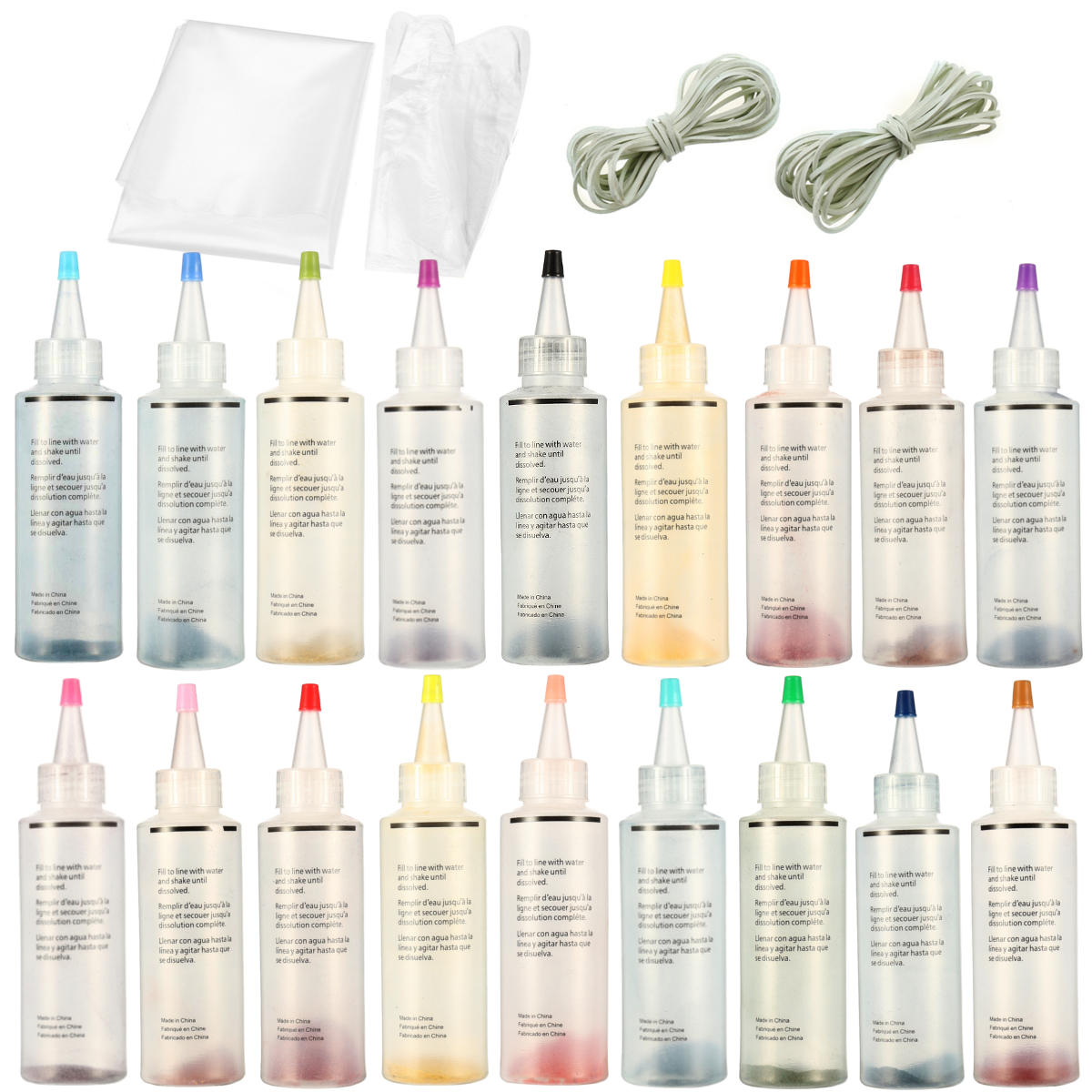 1Tulip One Step Tie Dye Kit Vibrant Fabric Textile Permanent Paint Colors Pigment, Banggood  - buy with discount