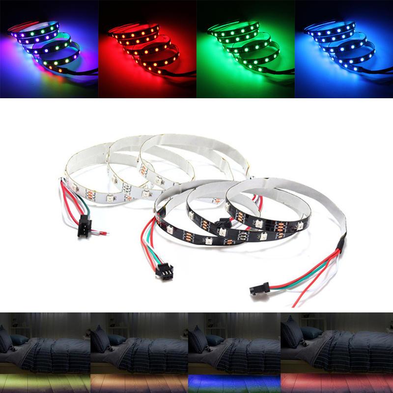 1M Không thấm nước WS2812 WS2812B RGB 30 Đèn LED dải riêng lẻ Địa chỉ 5V