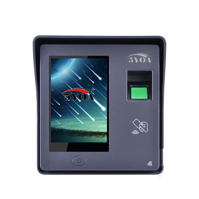 5YOA BM11 Intelligent Fingerprint Password Card Recognition Time Attendance Machine RFID Door Lock Access Control System фото