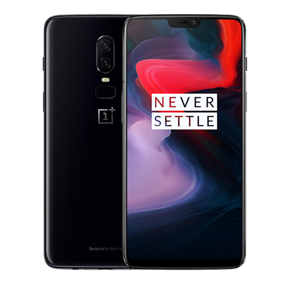 OnePlus 6 6 28 Inch 19:9 AMOLED Android 8 1 6GB RAM 64G ROM Snapdragon 845  Octa Core 4G Smartphone
