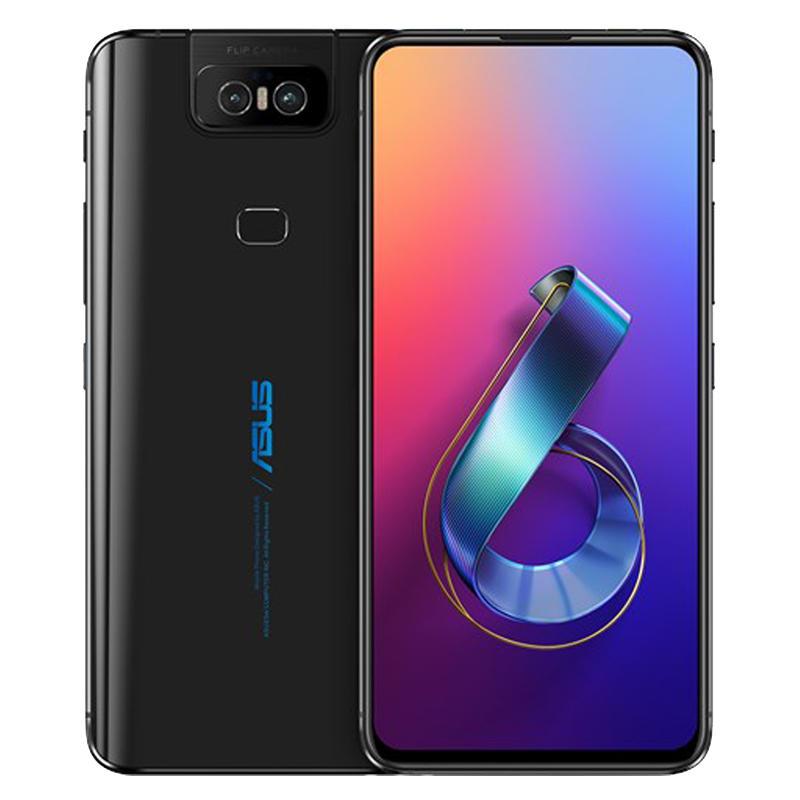 ASUS ZenFone 6 Global Version 6.4 Inch FHD+ Full Screen NFC 5000mAh 48MP+13MP Flip Cameras 6GB 64GB Snapdragon 855 4G Smartphone