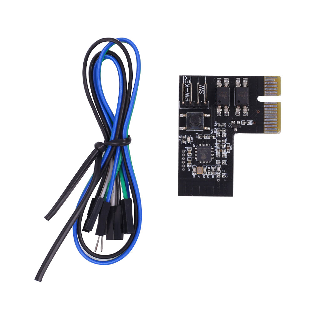 XY-WPCE Computer Remote Switch Controller PCIE Wireless WIFI Smart Controller Timing Delay Reboot