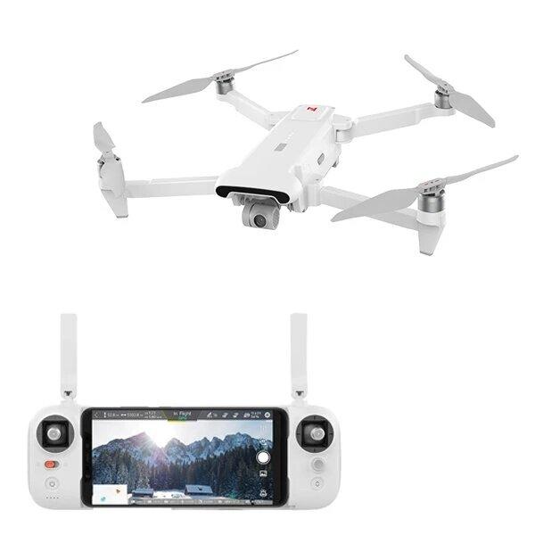 FIMI X8 SE 2020 8KM FPV、3軸ジンバル4KカメラHDRビデオGPS 35分の飛行時間RCクアッドコプターRTF Oneバッテリーバージョン