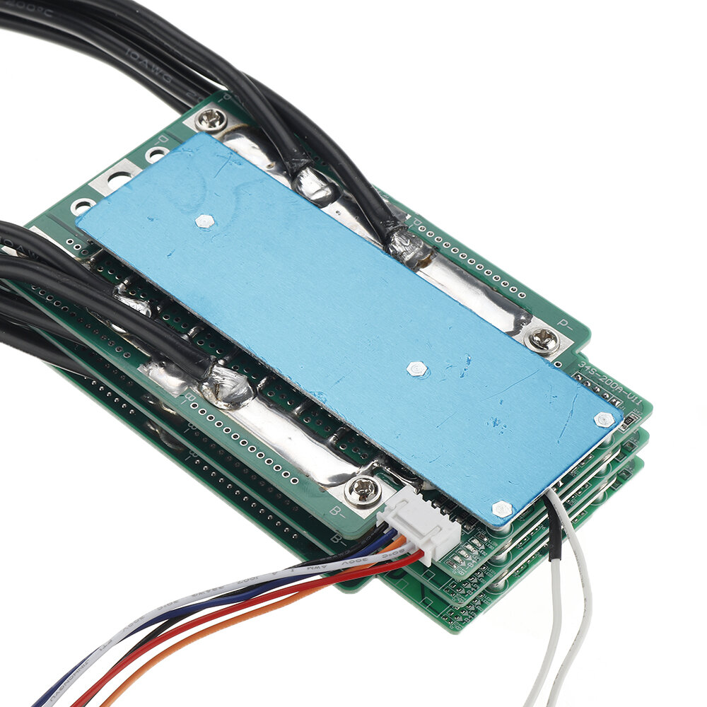 4S 100A 200A 300A 3.2V LifePo4 Lithium Iron Phosphate Protection Board 12.8V High Current Inverter BMS PCM For Motorcycl
