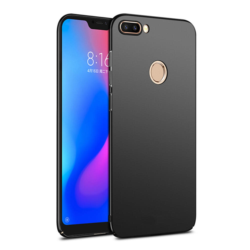 new arrivals 93af7 d4274 Bakeey Ultra Thin Shockproof Hard PC Back Cover Protective Case for Xiaomi  Mi8 Mi 8 Lite 6.26 inch