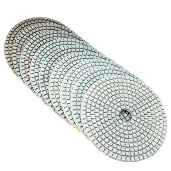 Diamond Polishing Pads Wet Dry Granite Concrete Marble Glass Stone Sanding