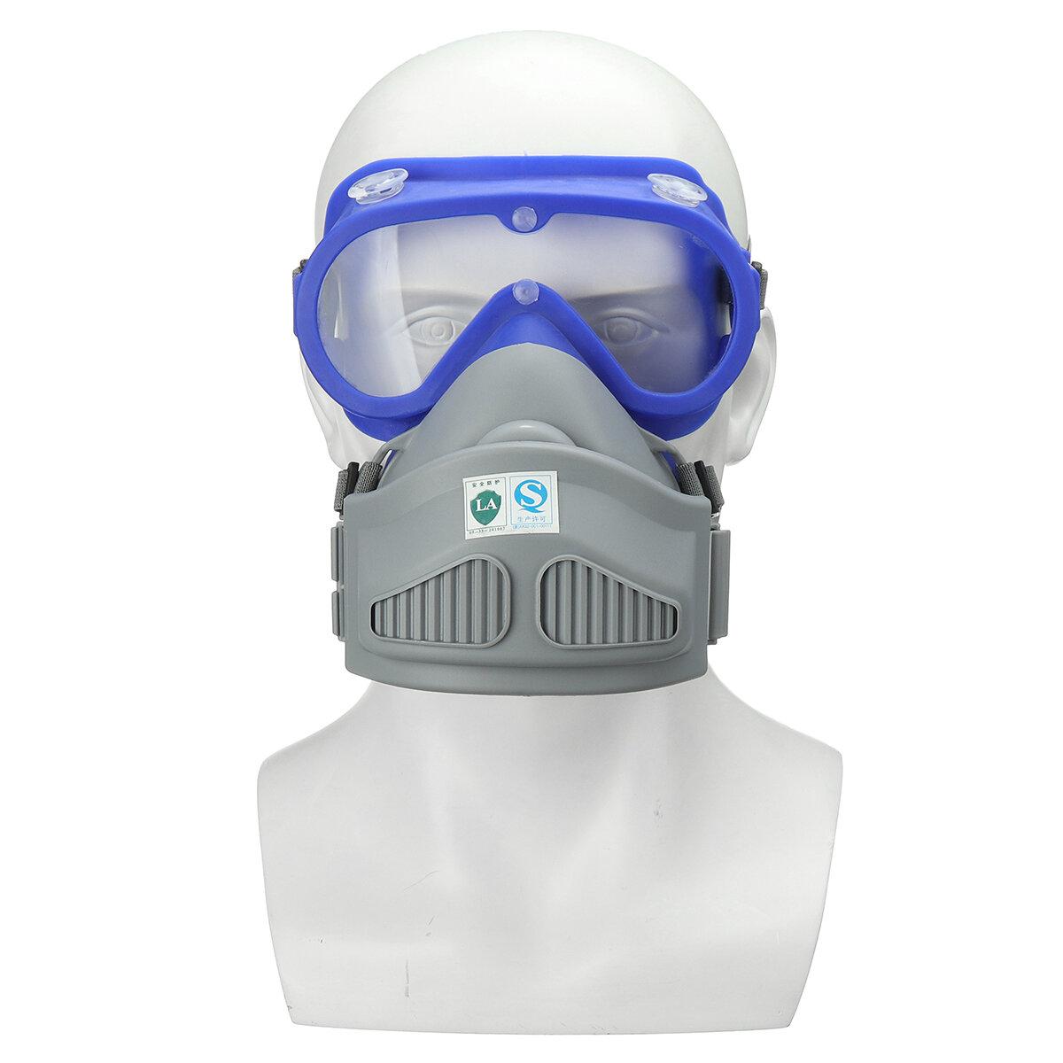 Filtro chimico di sicurezza con protezione antipolvere per occhiali Maschera per respiratore a pieno facciale