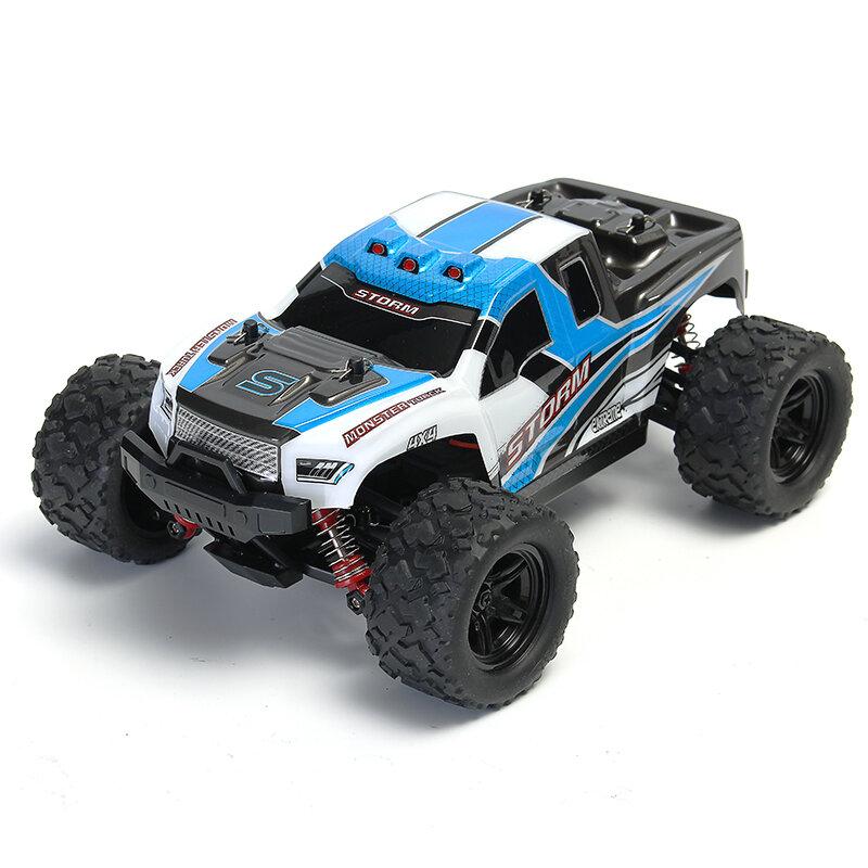 एचएस 18301/18302 1/18 2.4G 4WD हाई स्पीड बिग फुट आरसी रेसिंग कार ऑफ-रोड वाहन खिलौने