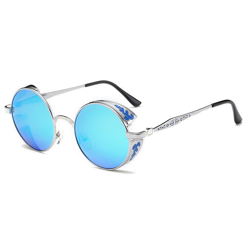 Women Punk Round Ladies Polarized Sunglasses, Banggood  - buy with discount
