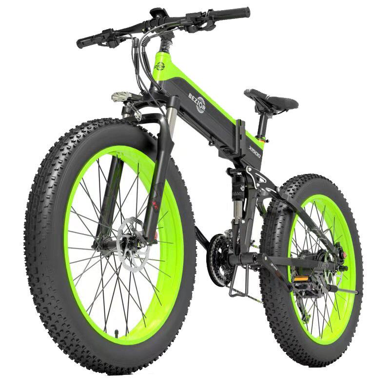 Rower elektryczny Bezior X1500 12.8Ah 48V 1500W z EU za $1559.99 / ~5929zł