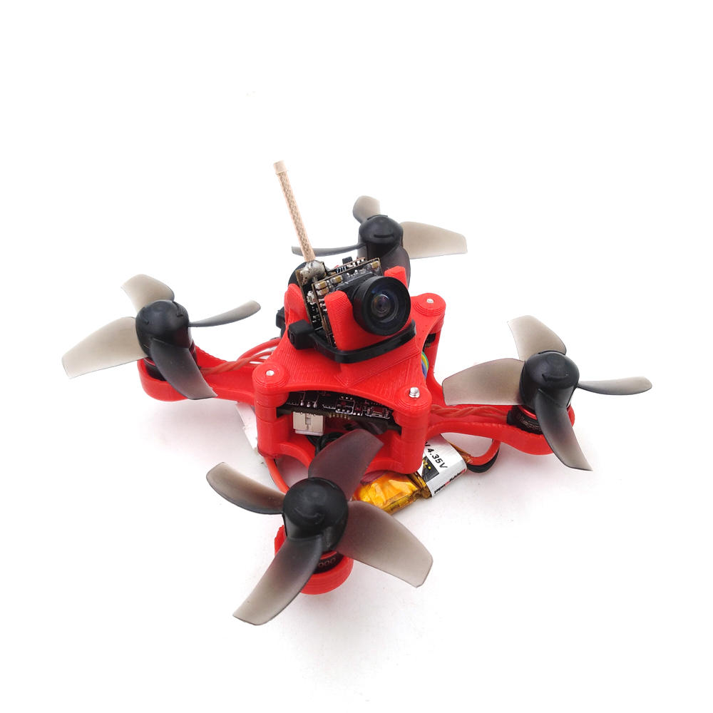 Mobula7 75mm TPU 3D Printed FPV Racing Frame Kit compatible 0802 1-2S Brushless Motor 26*26mm Flight Controller