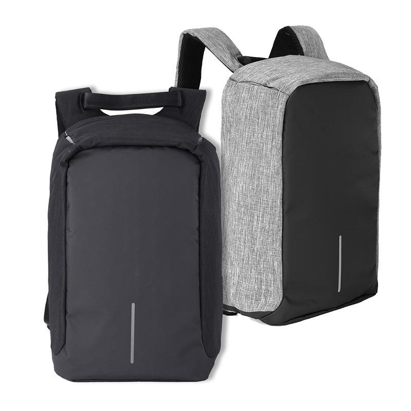 Anti Theft Laptop Notebook Ryggsekk Vesker Reise Bag Med Ekstern USB Ladestasjon
