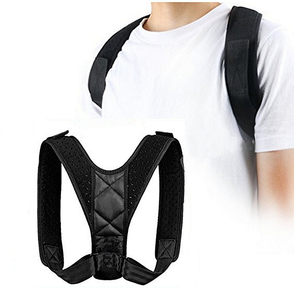 Tư thế xương đòn Hỗ trợ Corrector Back Straight Shoulders Nẹp dây đeo Correct Back Support