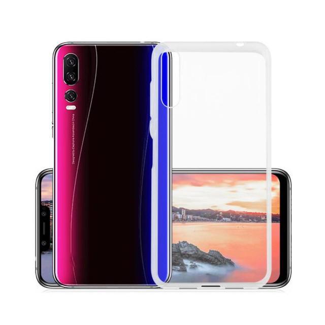 BAKEEY Transparent Ultra-thin Soft TPU Protective Case For Elephone A5 / Elephone A5 lite