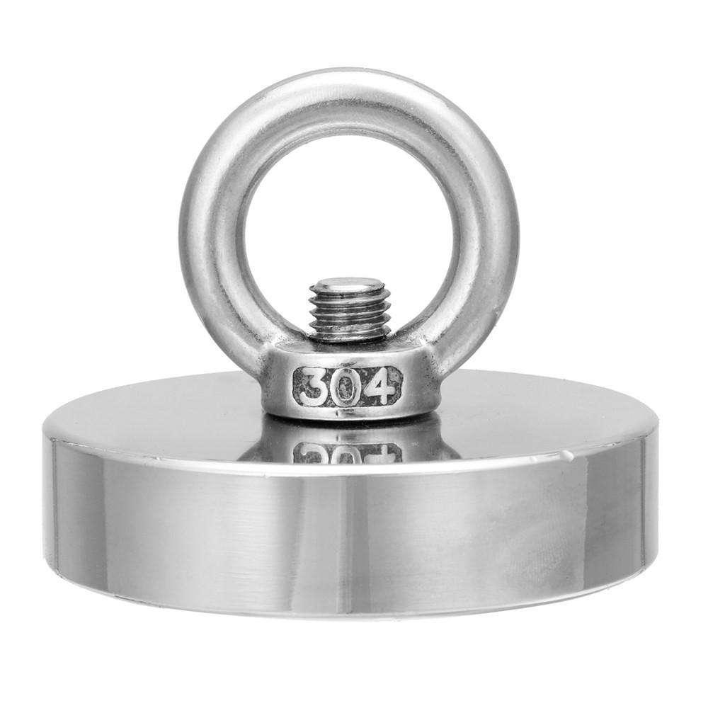 300kg D75mm Neodymium Câu cá phục hồi cứu hộ để phát hiện kho báu kim loại
