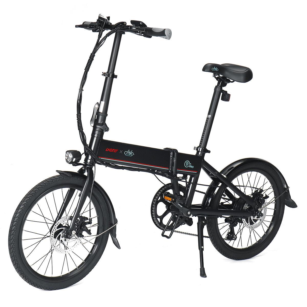 Rower elektryczny LAOTIE X FIIDO D4s Pro z EU za $706.73 / ~2687zł