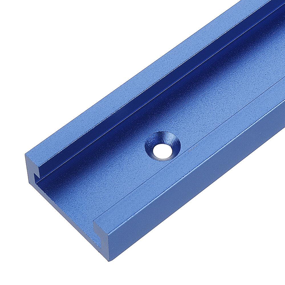 Banggood coupon: Azul 100-1200mm T-slot T-track Mitre Track Jig Fixture Slot 30x12.8mm Para Serra de Mesa Tabela de Roteador Ferramenta p