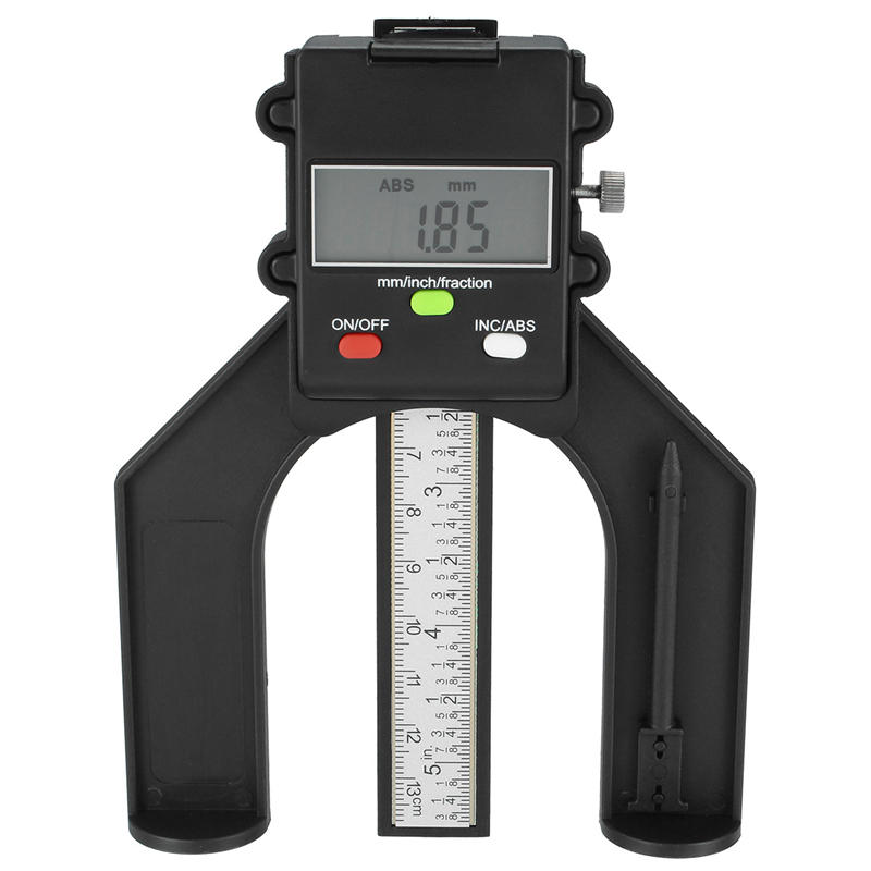 "Digital Height Gauge 0-150mm//6/"" Caliper Electronic Woodworking Measurement Tool."