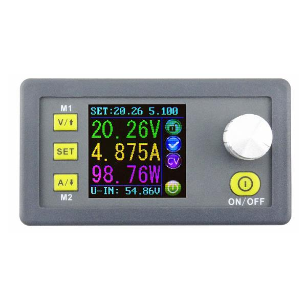 RIDEN® DPS5005 50V 5A Buck Adjustable DC Constant Voltage Power Supply Module Integrated Voltmeter Ammeter With Color Display