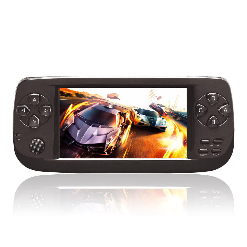 16G 64 Bit 4.3 Inch HD Handheld Video Game Player Game Console for CP1 CP2 GBA FC NEO GEO 3000 Games