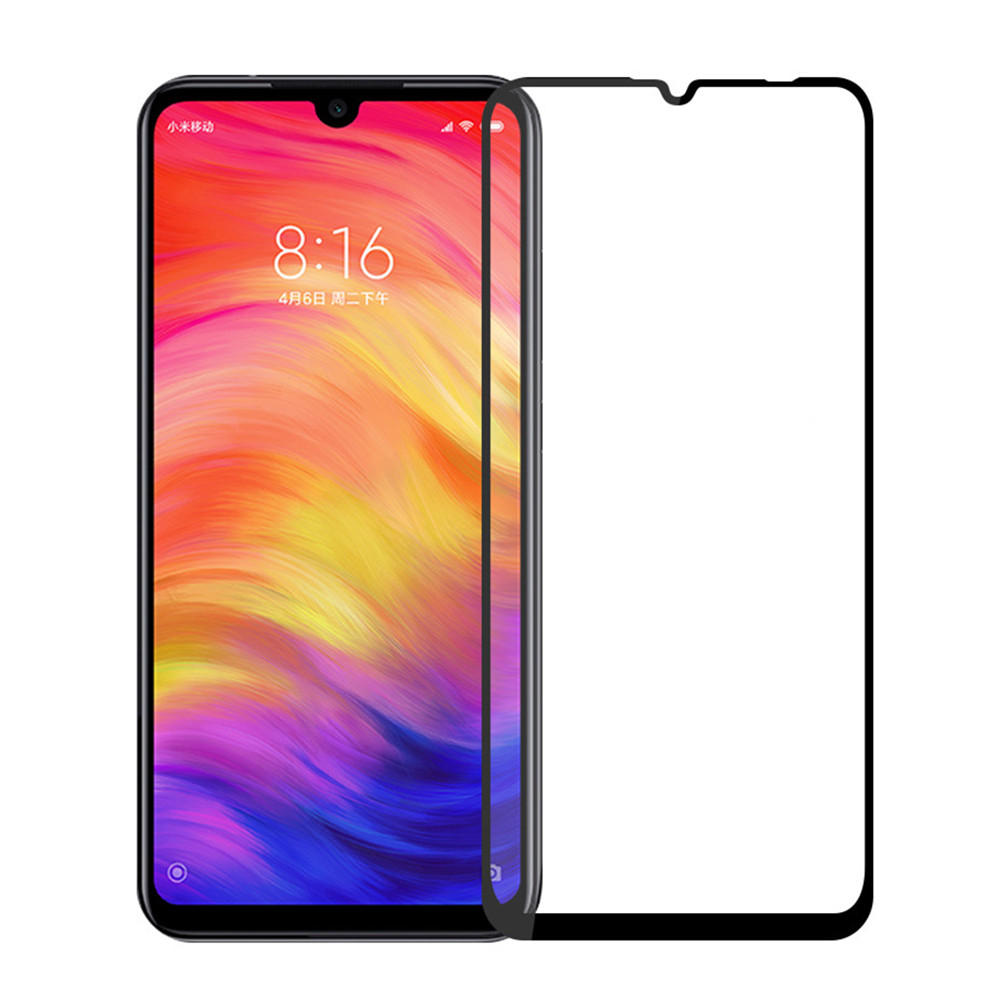 Mofi Anti-explosion Anti-scratch HD Clear Full Cover Tempered Glass Screen Protector for Xiaomi Redmi Note 7 / Note 7 Pr фото