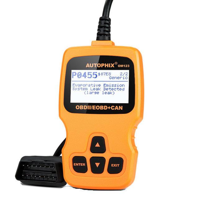 OM123 ODB2 OBDII Engine Fault Code Reader Auto Car Diagnostic Scanner Tool