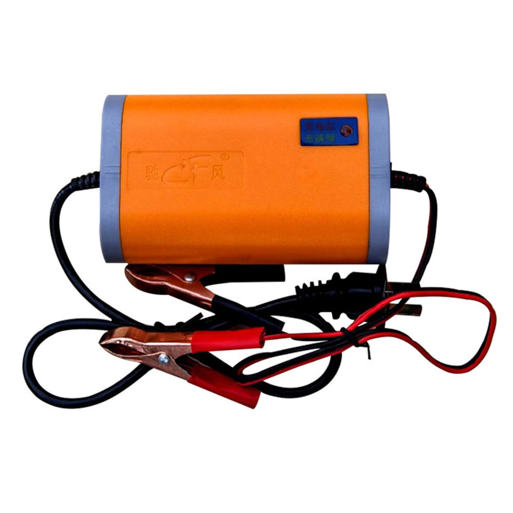 12V 2A Motorcycle Scooter Automatic Charger Lead Acid Battery 3 Plug With LED Signal Light