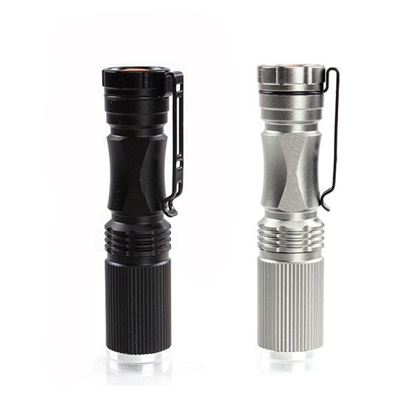 Meco XPE-Q5 600 Lumen 7W Zoomable LED Lintera para 1xAA 1.2V