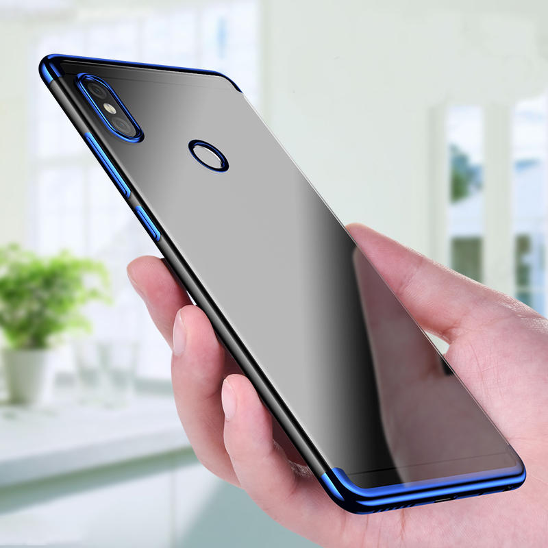 Bakeey Luxury Ultra Thin Color Plating Shock-proof Soft TPU Protective Case For Xiaomi Redmi Note 5