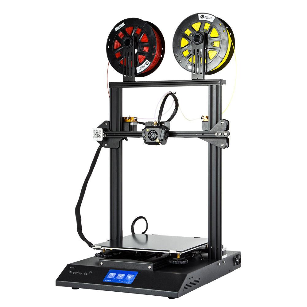 Kit d'imprimante 3D DIY Creality 3D® CR-X Format d'impression 300 * 300 * 400mm avec impression bicolore / Conception intégrée / Écran tactile de 4,3 pouces / Ventilateurs doubles