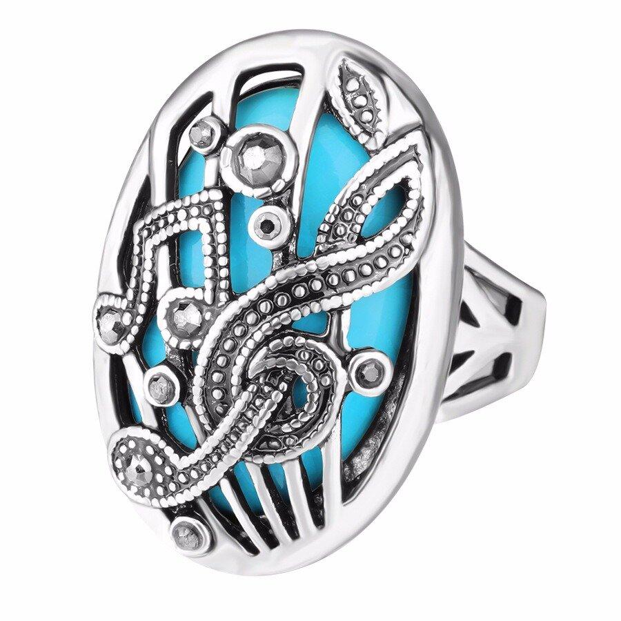 Этническиеполыерезныекольцапальцамузыкальное кольцо Rhinestone Овальное геометрическое кольцо Винтаж Ювелирные изде фото