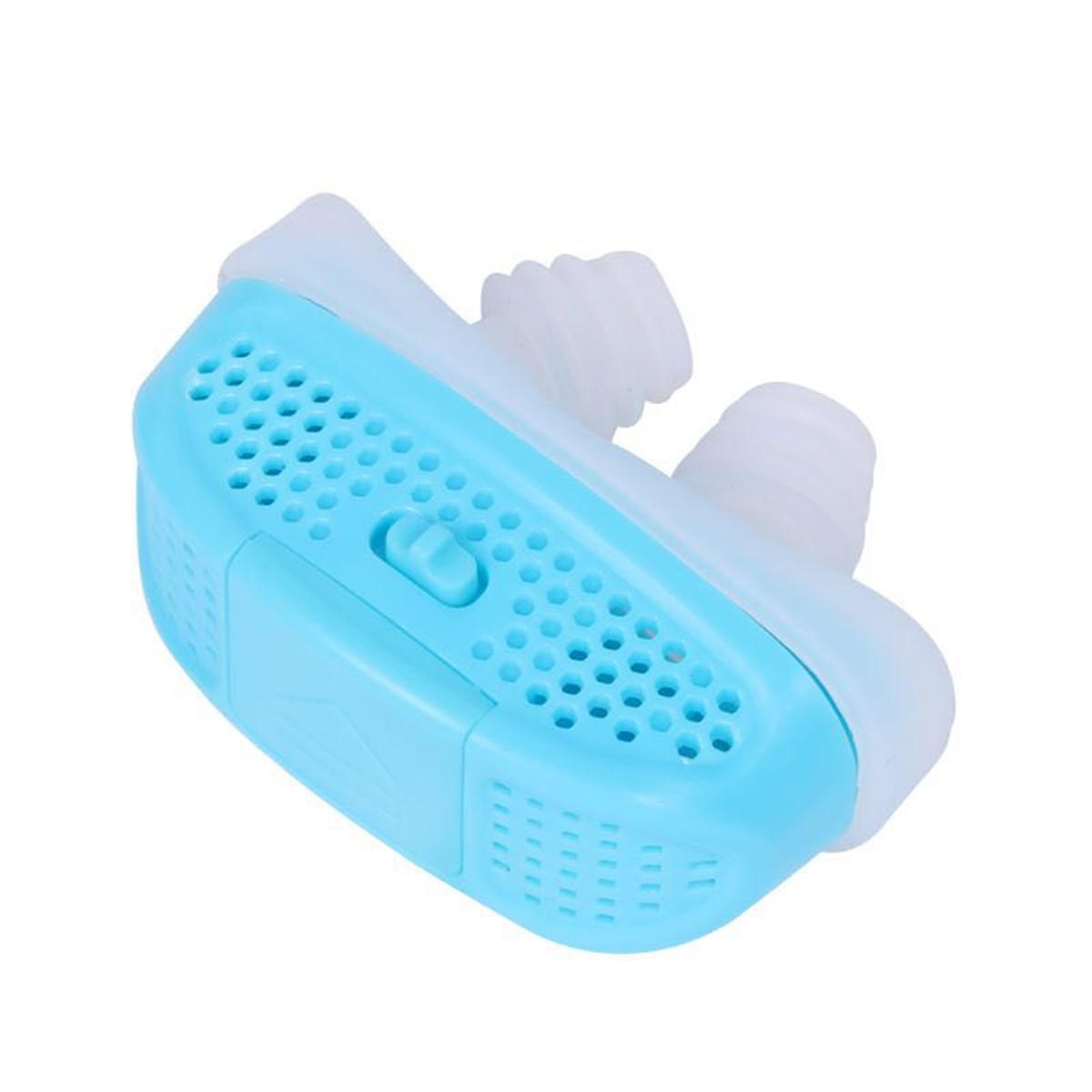 Mini CPAP Anti Snoring Devices Air Purifier Sleep Aid Snore Stopper Nose Machine