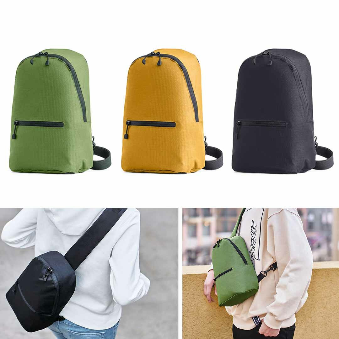 Xiaomi ZANJIA 7L Chest Bag 3 Colors Level 4 Waterproof Nylon 10inch Laptop Messenger Bag 100g Lightweight Outdoor Travel