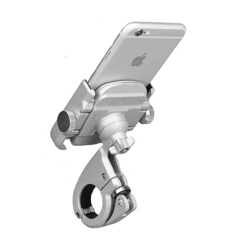 "BIKIGHT 4-6.8"" Aluminum Alloy Bicycle Motorcycle Phone Adjustable Holder For iPhone X XS XR XS Max Xiaomi Samsung Galaxy s6/s7/s8/s9 Plus GPS"