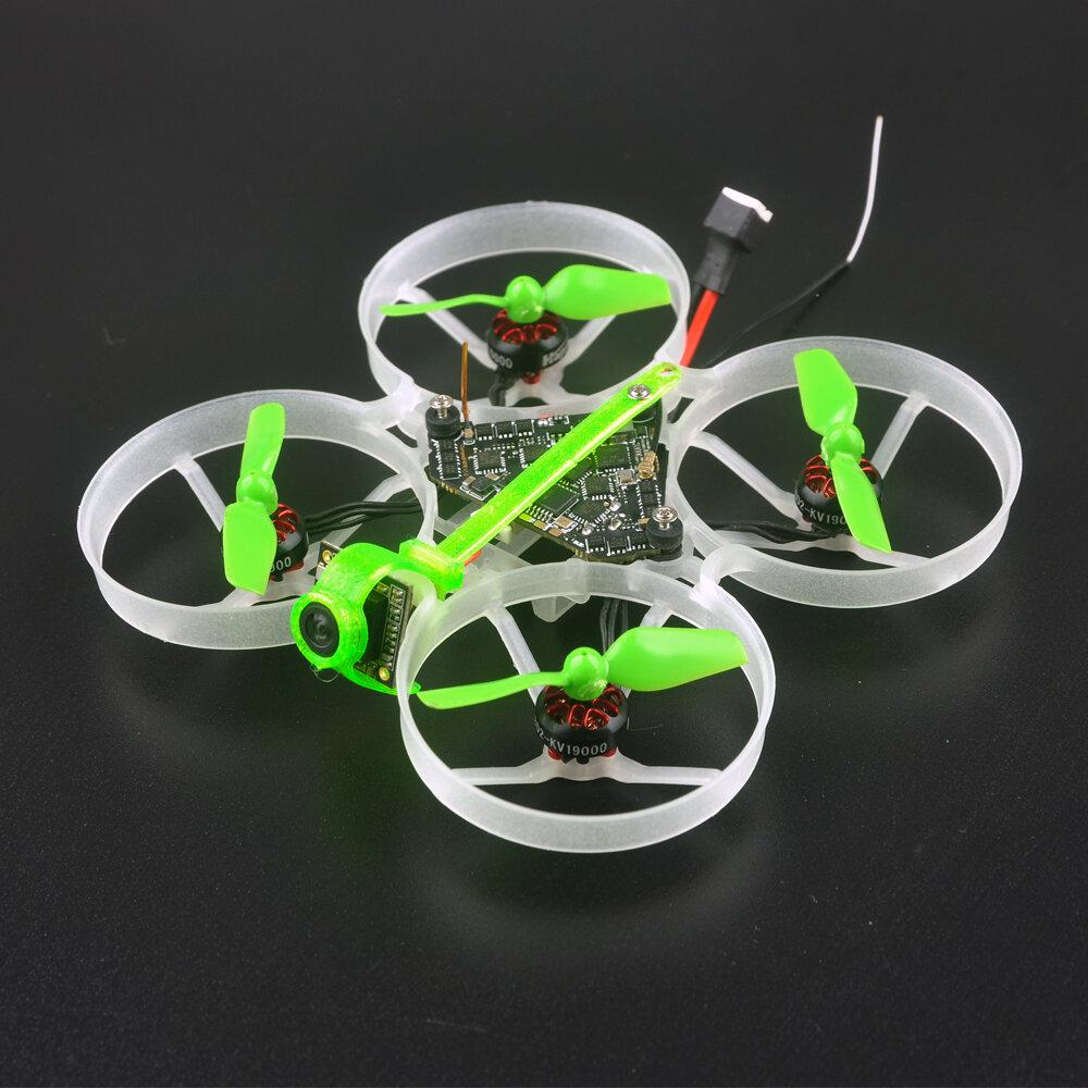Banggood coupon: 19,5g Happymodel Moblite7 75mm 1S Diamante F4 AIO 5A BB2 ESC Receptor 25 / 200mW VTX Whoop FPV Racing Drone BNF c / EX08