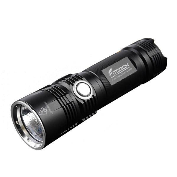 Fitorch P26R XHP70.2 3600Lumens FCD פנס LED נייד נטענות