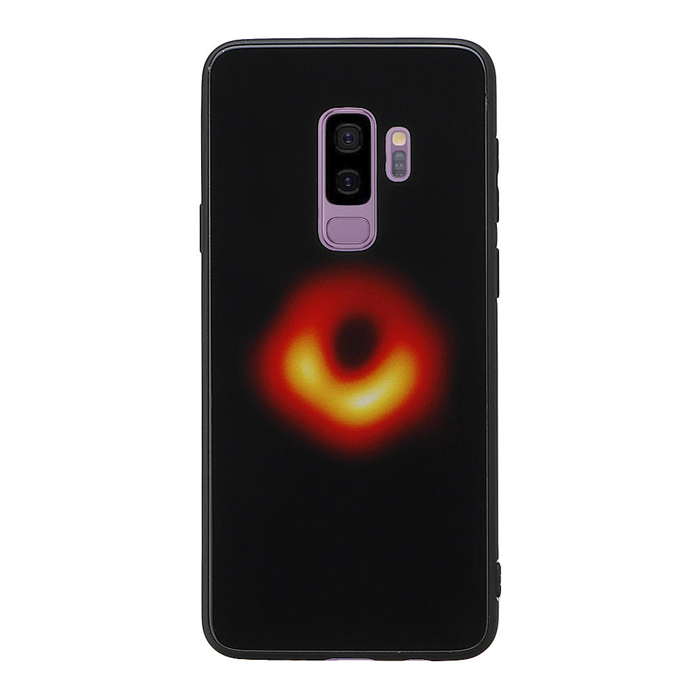 Bakeey Black Hole Scratch Resistant Tempered Glass Protective Case For Samsung Galaxy S9 Plus