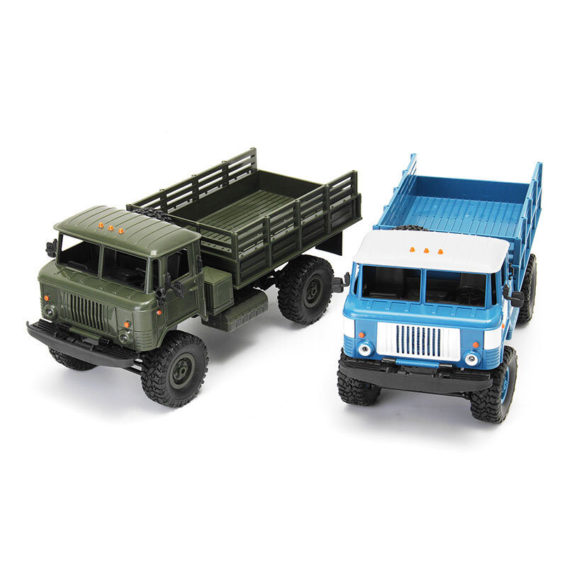 WPL B24 1/16 2.4G RTR 4WD RC Car Vehicles Model Military Truck, Banggood  - buy with discount