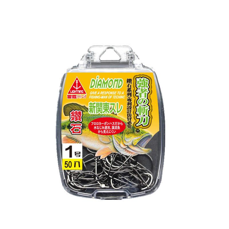 ZANLURE Japanese Original High Carbon Steel Fishing Hook Diomand Fishing Tackle, Banggood  - buy with discount