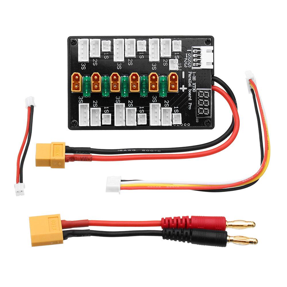 आईएमएक्स बी 6 बैलेंस चार्जर के लिए एक्सटी 30 प्लग 1 एस -3 एस लिपो बैटरी अपग्रेड वर्जन समांतर चार्जिंग