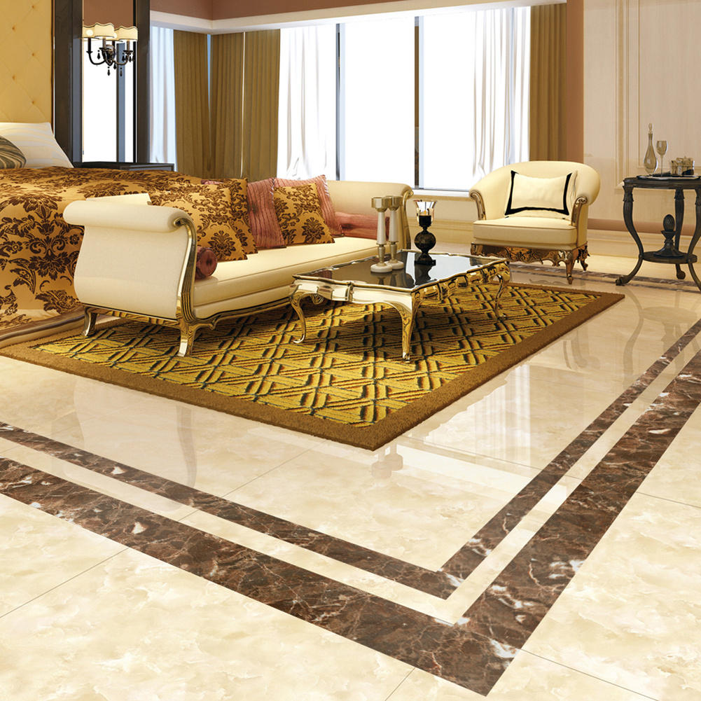 4022bd5ceb35 Plated Marble Pattern DIY Tile Sticker High-end Floor Tile Decorative Line  Stickers Flooring Tile Wall Sticker PVC Wall Sticker Bathroom Waterproof ...