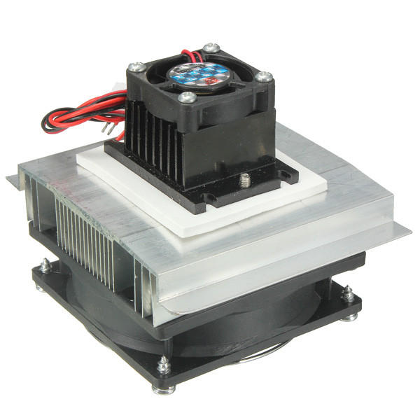 ILS TEC1-12705 Thermoelectric Peltier Refrigeration Coolor Fan with 220V EU Power Supply
