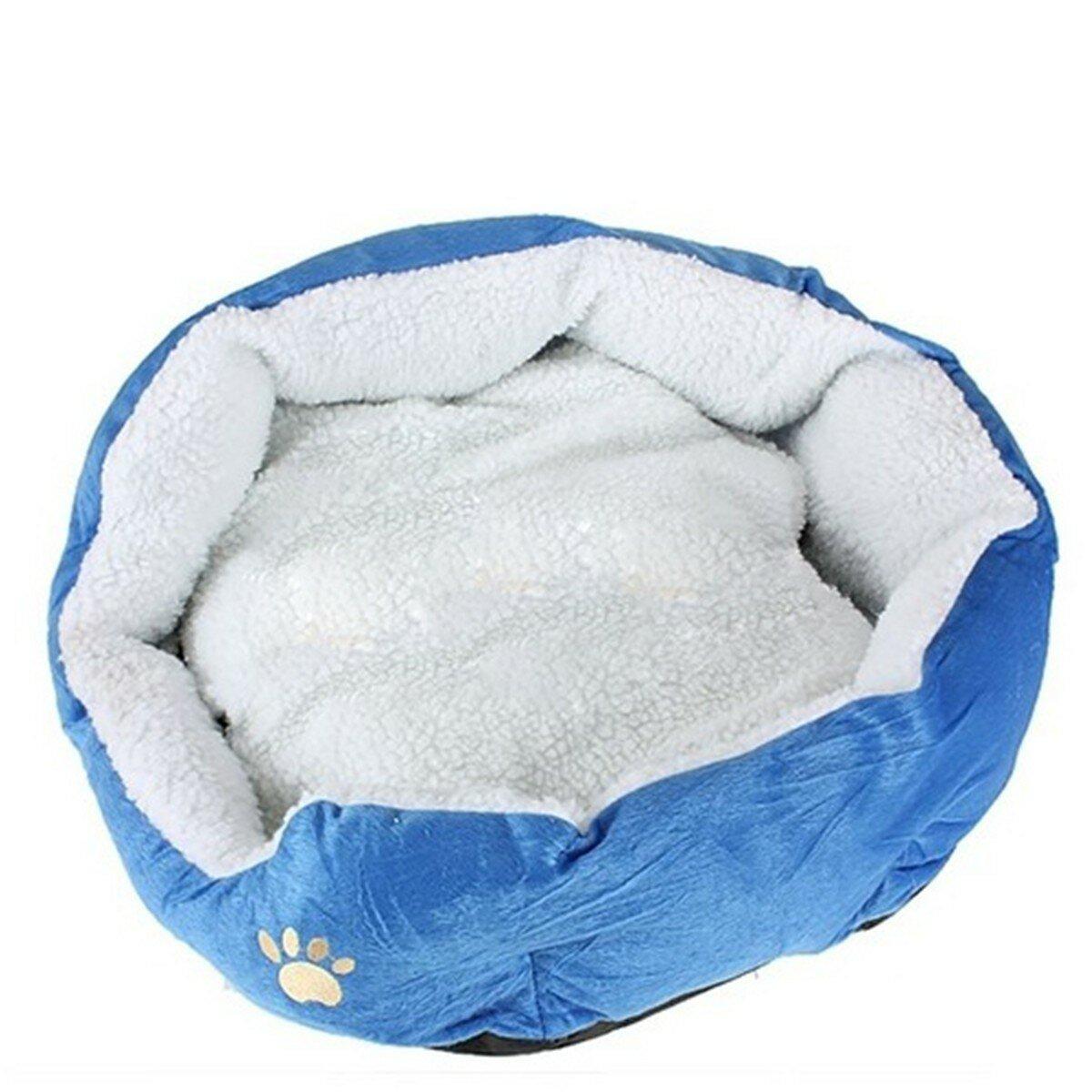 Большой размер флис мягкая теплая кровать собаки циновки пусковой площадки