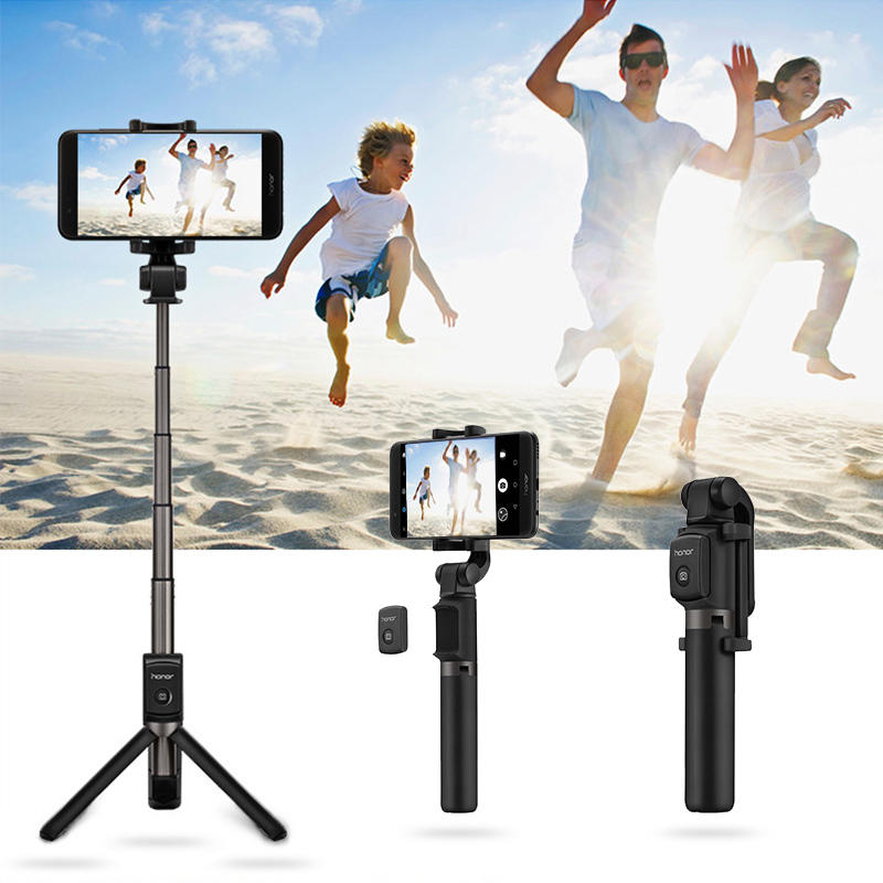 Huawei Honor 2 in 1 Mini Extendable bluetooth Tripod 360 Degree Rotation Selfie Stick for Smartphones