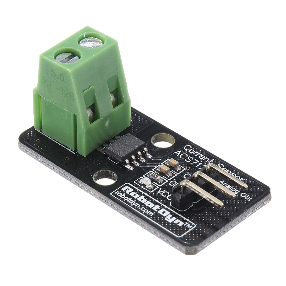 20pcs ACS712 20A Current Sensor Module Board RobotDyn for Arduino - products that work with official for Arduino boards