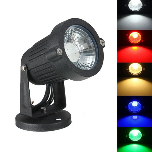 3W IP65 LED Flood Light With Base For Outdoor Landscape Garden Path AC/DC12V