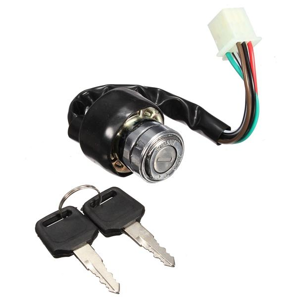 moped ignition switch wiring diagram 6 wire ignition switch 2 keys universal for car motorcycle scooter  6 wire ignition switch 2 keys universal